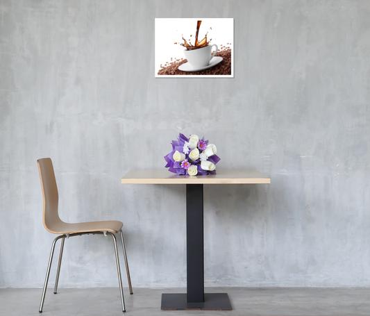 thumbnail 9 - Splashing Coffee Art Print Home Decor Wall Art Poster - C