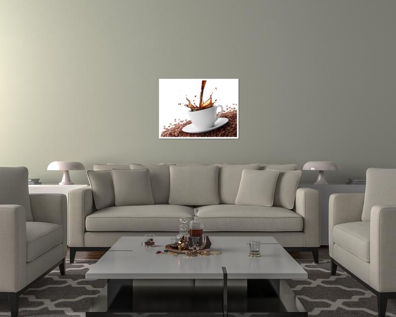 thumbnail 13 - Splashing Coffee Art Print Home Decor Wall Art Poster - C