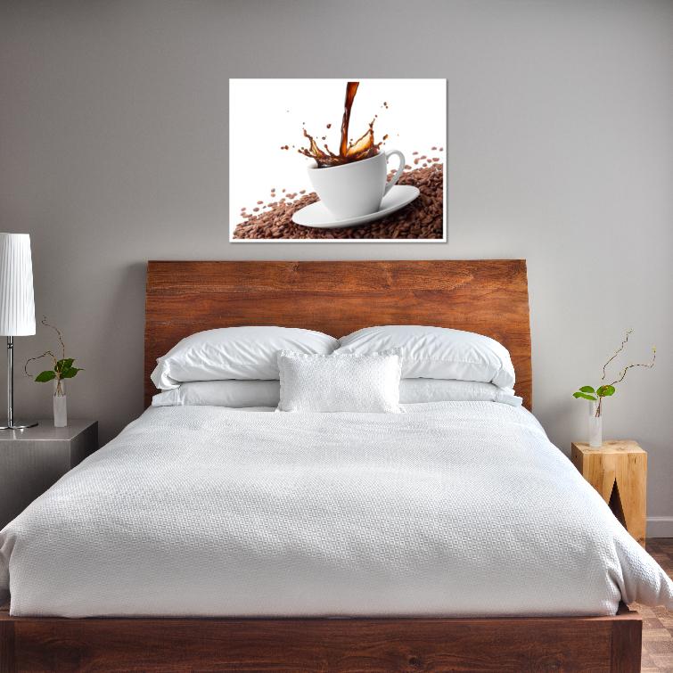 thumbnail 16 - Splashing Coffee Art Print Home Decor Wall Art Poster - C