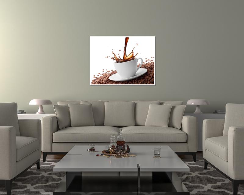 thumbnail 17 - Splashing Coffee Art Print Home Decor Wall Art Poster - C