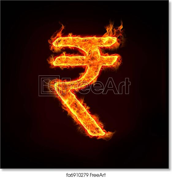 Free Art Print Of Indian Rupee Indian Rupee India Currency Symbol