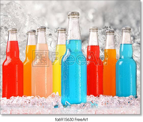 photo relating to Have a Cool Summer Printable known as Totally free artwork print of Amazing summertime beverages with ice