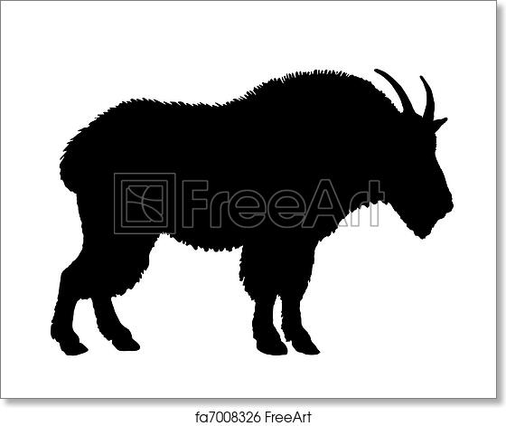 Free Art Print Of Mountain Goat Silhouette Freeart Fa7008326 Find professional goat silhouette videos and stock footage available for license in film, television, advertising and corporate uses. freeart