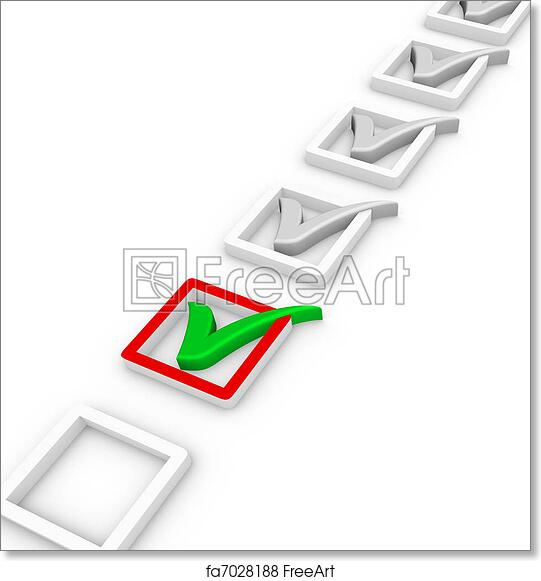 Free Art Print Of Check List And Green Check Mark Freeart Fa7028188