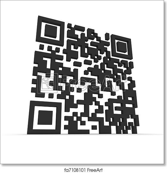 Free art print of Big 3D QR-code
