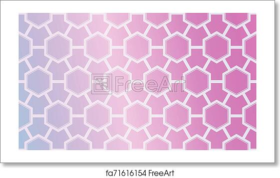 Free Art Print Of Modern Pattern With Curved Line Geometric Elements Blurred Gradient Background Design For Screen Presentation Wallpaper