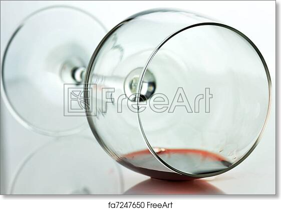 free art print of spilled wine glass spilled wine glass close up