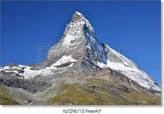 Vintage Zermatt Switzerland Tourism Poster A3//A4 Print