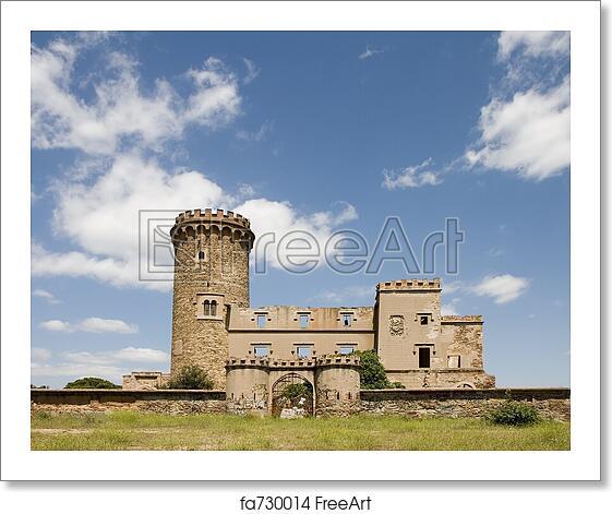 Free art print of Salvana Tower in Catalonia. Salvana tower in Santa ... 0049ca066e79