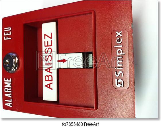 Free art print of Fire Alarm Pull Station