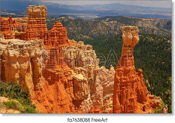 Utah Hoodoo Bryce Canyon National Park Trekking Pole Decal