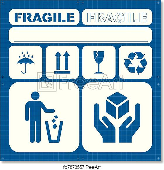 photograph relating to Free Printable Safety Posters named No cost artwork print of Stability sensitive icon preset vector
