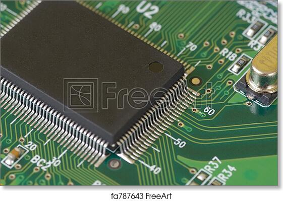 Free art print of Technology - Printed Circuit Board. Close-up image ...