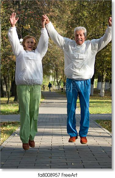 Image of: Whisper Free Art Print Of Active Old People Jumping Freeart Free Art Print Of Active Old People Jumping Cute Active Old People