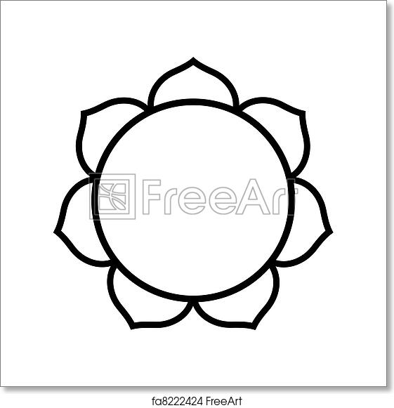 Free Art Print Of Buddhist Lotus Flower Buddhist Lotus Flower In