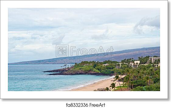 Free Art Print Of Hapuna Beach State Park Hawaii Big Island