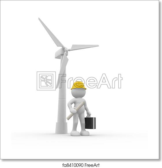 Free art print of Wind-power
