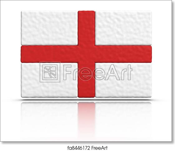 photo relating to Printable England Flag known as Cost-free artwork print of Flag of England