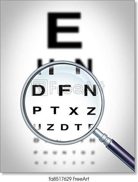 Free Art Print Of Human Eye Vision Human Eye Vision Chart And Sight