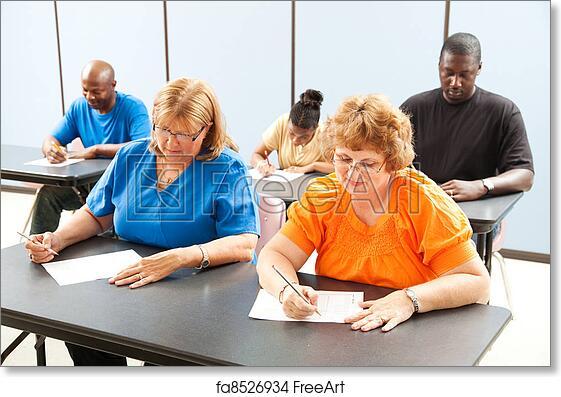 Adult education school
