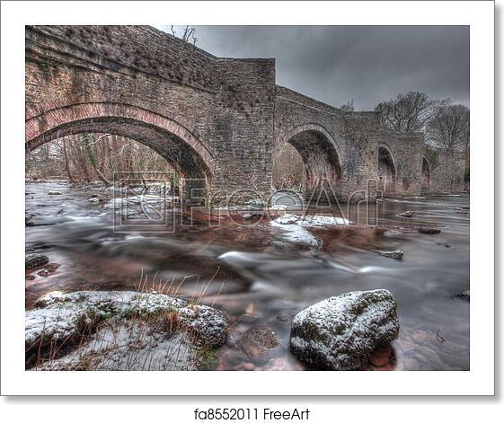 hdr old bridge and - photo #14
