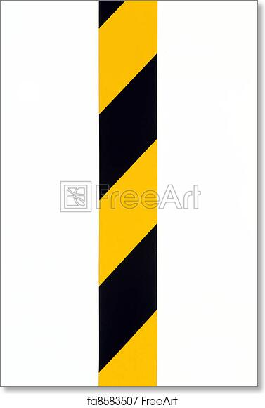 Free art print of Caution signs