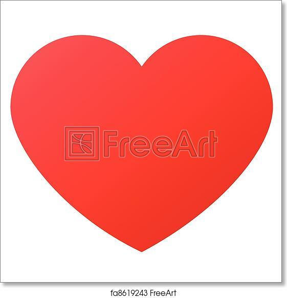 Free Art Print Of Heart Shape For Love Symbols Heart Shape Design