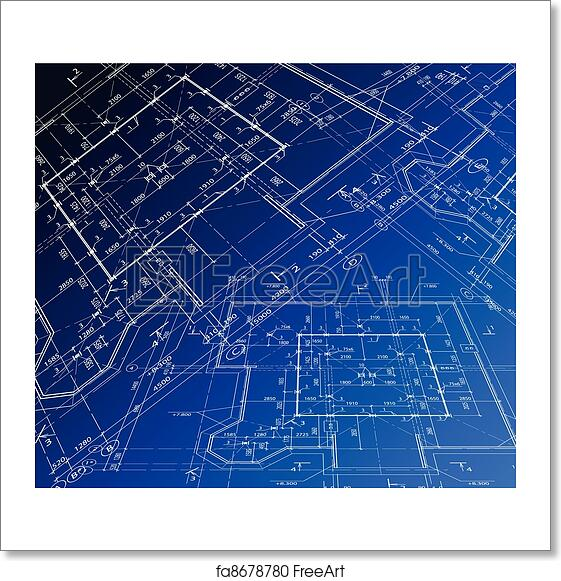 Free art print of house plan vector blueprint house plan vector free art print of house plan vector blueprint malvernweather Images