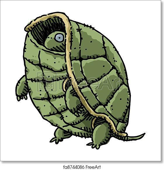 Free Art Print Of Shy Turtle A Cartoon Turtle Peeks Out From