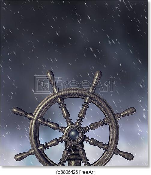 Free Art Print Of Navigating Through The Storm Navigating A Through