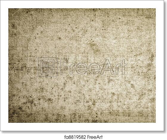 Free Art Print Of Bleached Out Grunge Paper Texture