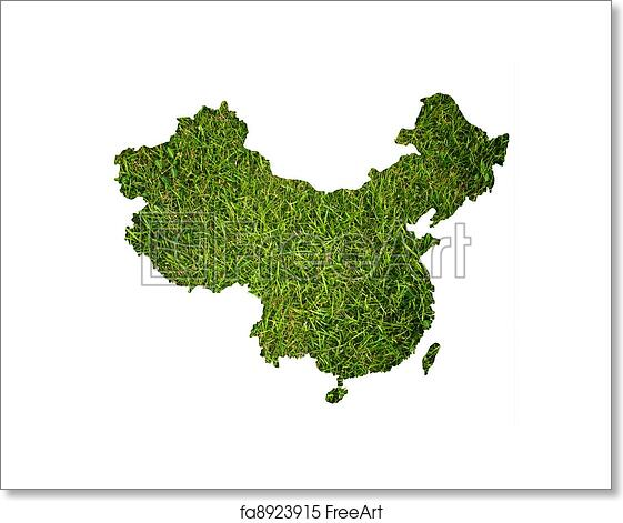 Free art print of china map background with grass this map made free art print of china map background with grass gumiabroncs Images