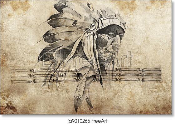 Warrirors Sketch Art