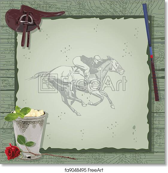 Free Art Print Of Horse Racing Party Invitation Horse Racing Party