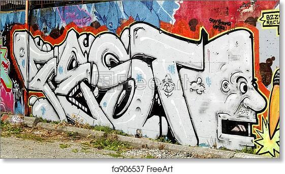 Free art print of Graffiti Word