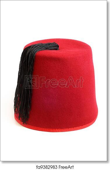 Free art print of Turkish hat (fez)