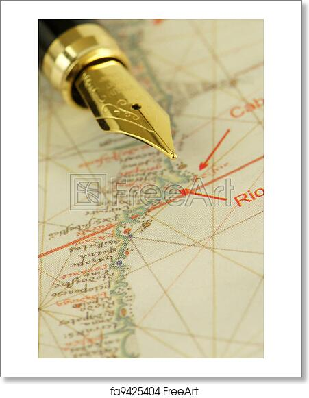 Free art print of Nautical Chart Detail