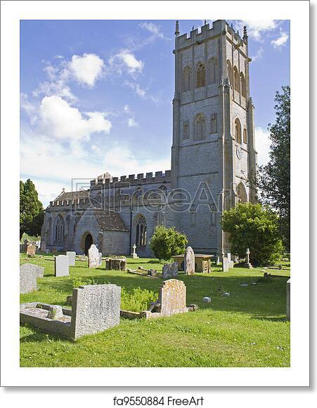Free art print of Holy Trinity Church Long Sutton