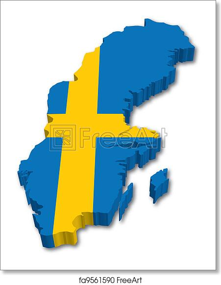 Free art print of 3D Sweden map with flag  D Map Of Sweden on street view of sweden, outline map of sweden, blackout map of sweden, interactive map of sweden, travel map of sweden, coloring map of sweden, cartoon map of sweden, cute map of sweden, vintage map of sweden, hd map of sweden, food map of sweden, terrain map of sweden, print map of sweden, google map of sweden, black map of sweden,