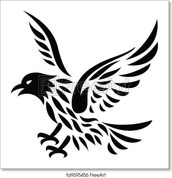 Free art print of Eagle Tattoo