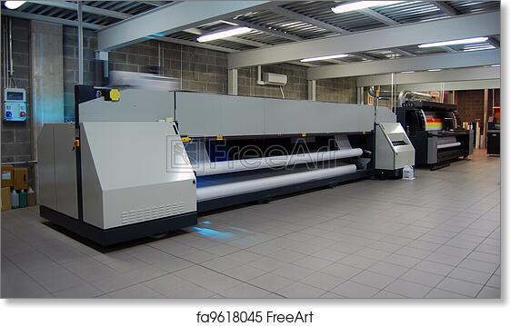 Free art print of Digital printing - wide format