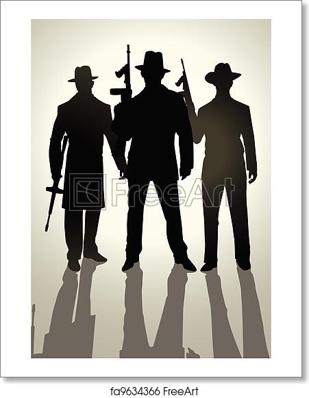 Free Gangster Art Prints and Wall Artwork | FreeArt