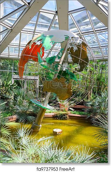 garten frankfurt, free art print of a globe (planet maket) in palmen garten, frankfurt, Design ideen