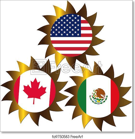 Free Art Print Of Nafta Nafta North American Free Trade Agreement