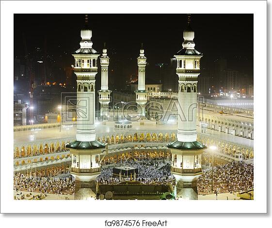 Free Mecca Art Prints and Wall Artwork | FreeArt