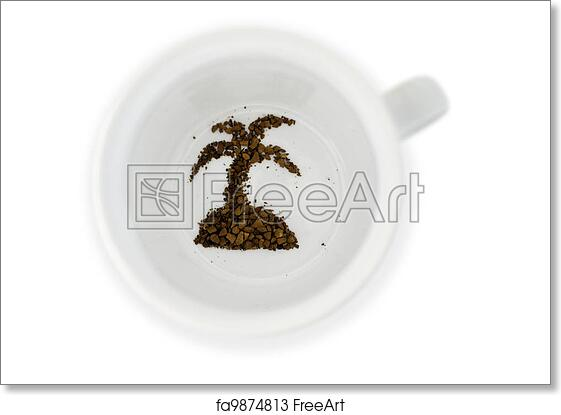 Free art print of Fortune telling in coffee reading